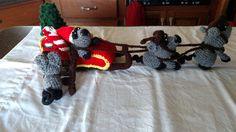 Christmas sleigh with mice