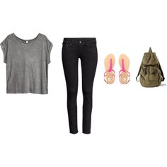 """""""School Outfit"""" by charbear231 on Polyvore"""