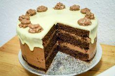 Schokotorte mit Schokoladen-Dripping - Tasty-Sue