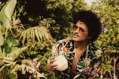 """For the superstar singer #BrunoMars, #rum means """"it's dance time."""" #holidaycocktails #tropicalcocktails #beach #travel #cocktailrecipe"""