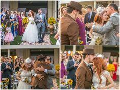 Casamento temático: entrada e chegada da noiva ao altar