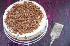 Daim-kakku – Hellapoliisi Gluten Free Baking, Fodmap, Desert Recipes, No Bake Desserts, Tiramisu, Deserts, Food And Drink, Sugar, Sweet