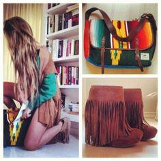 Boho. Those boots