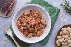 Ricetta Gnocchetti di carote con funghi misti - Le Ricette di GialloZafferano.it