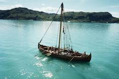 The legendary Viking sunstone that could accurately navigate the seven seas in bad weather may actually be based on a real artifact, claim scientists. Viking Ship, Viking Age, Vikings, Norse Mythology, Anglo Saxon, Dark Ages, Sailing Ships, Sailing Boat, History Books