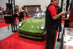 Car display at 2012 SEMA
