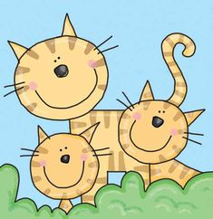 Julie Clough Children 's Abbildungen Source by grandylynn Art Drawings For Kids, Drawing For Kids, Easy Drawings, Art For Kids, Cat Applique, Cat Quilt, Cat Drawing, Whimsical Art, Painting For Kids