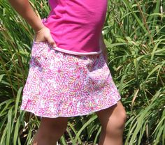 Check out our Golftini Girl Sunflower Junior Skort for $30.00