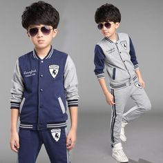 Cheap clothing monkey, Buy Quality clothing paypal directly from China clothing buttons for sale Suppliers: Boys clothing sets New cotton print single breasted coats + pants 2pcs sports suit baby Bo