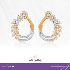 How to listen to a diamond when it speaks? It's simple, keep them real close to your ears. These exquisite gold & diamond earrings are a perfect combo of class & elegance.  Visit our store www.antarajewellery.com  #AntaraJewellery #earrings #gold #goldjewelry #diamonds #diamondsareforever #diamondcelebration #diamondjewelry #jewellery #jewellerydesign #jewellerymaking #jewellerydesigner #jewelleryaddict #jewelleryoftheday #jewellery2inspire #jewellery4ever #jewelleryaccessories… Gold Diamond Earrings, Diamond Jewelry, Gold Jewelry, Jewellery, Antara, Ears, Diamonds, Jewelry Design, Jewelry Making