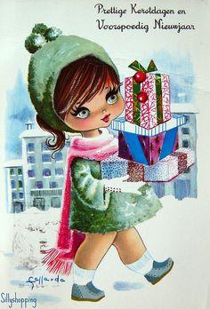 Christmas Presents - Big Eye Gallarda Girl