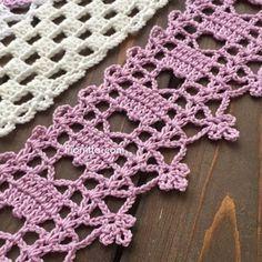 Crochet edging by Fionitta | | Fionitta crochet