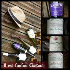 Gaston est amateur de vins