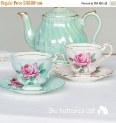 SPRING SALE Pretty vintage Paragon teacup and saucer choice