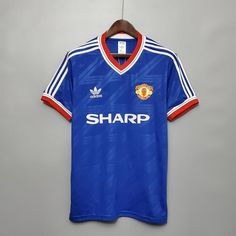 Manchester United FC - 1986-1988 Retro Third Shirt – Fergie Time Threads