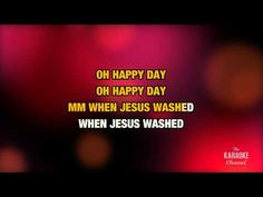 """Oh Happy Day in the Style of """"Sister Act 2"""" karaoke video with lyrics - YouTube"""