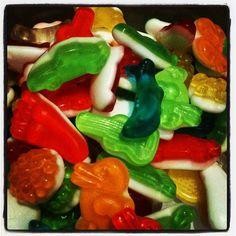 Gummy goodness.