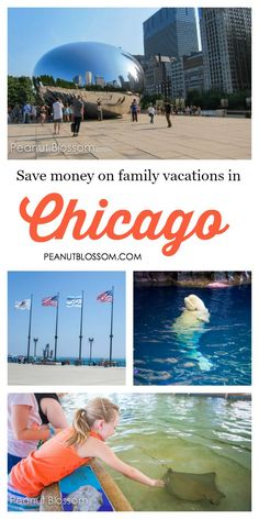 Great tips for saving money on your family vacation to Chicago. Traveling with kids can be so expensive, love these ideas for free things to do in Chicago and suggestions on how to save money on museum admission for the family.
