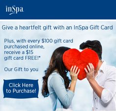 Online gift card promotion - now, through Valentine's Day!