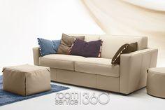 room service 360 Capri Italian Leather Sleeper Sofa By Gamma Arredamenti Contemporary Sleeper Sofas, Modern Sofa, Contemporary Furniture, Leather Sofa Bed, Leather Furniture, Sofa Upholstery, Fabric Sofa, Sofa Bed Blue, Italian Furniture
