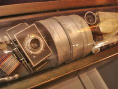 A replica of the items in the original Westinghouse time capsule. | The Best Way to Find a Time Capsule