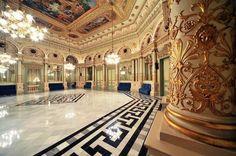 """Teatro del Liceu: Saló """"dels miralls"""" del Liceu - el salón de los espejos del Liceu"""