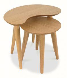 Oslo Oak Nest of Tables