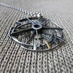 Czas przypływu #polandhandmade #naszyjnik #biżuteria artystyczna