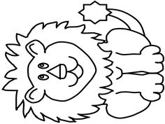 Applique Templates Free, Templates Printable Free, Free Printables, Lion, Drawings, Baby Things, Education, Google, Kids Coloring Sheets