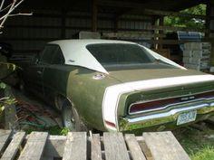 muscle car barn find   Heartland Barn Find: 1970 Dodge Charger 500