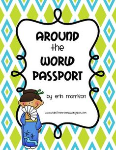 Teach your students about different cultures around the world using this passport. Students can