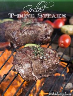 Try this very delicious Grilled T-bone Steaks With Sweet & Savory Sauce