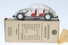 Wiking mostly makes 1:87 scale small plastic models (about 1.5 inches long), but this variation clear promotional that they made for VW in the early '50s in 1:40 scale (about 4 inches long) is especially appealing.