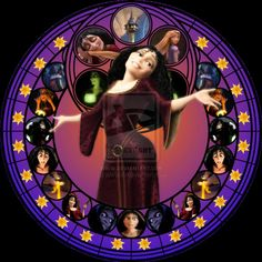 Gothel stained glass by jeorje90 on deviantART