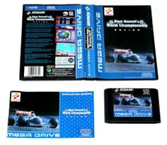 Sega Mega Drive Spiel Nigel Mansells World Championship Racing in OVP