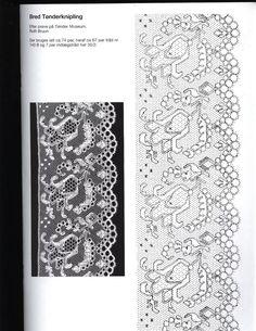 Photo: Bobbin Lace Patterns, Embroidery Patterns, Bobbin Lacemaking, Point Lace, Crochet Books, Needle Lace, Lace Making, Lace Knitting, Vintage Lace
