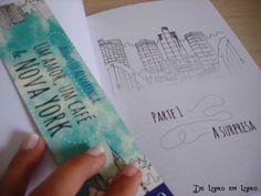 E olha as ilustrações que tem dentro de UM AMOR, UM CAFÉ & NOVA YORK (Augusto Alvarenga) Cute *.* Cute *.*