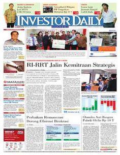 Investor Daily - 27 MARET 2015   RI - RRT JALIN KEMITRAAN STRATEGIS   INVESTOR DAILY