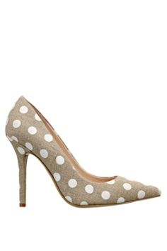 Neodan Polka-Dot Pumps
