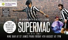 Groupon - An Evening with Supermac, 4 August, Nine Sports Bar & Lounge, St James' Park (Up to 20% Off) in Nine Sports Bar & Lounge. Groupon deal price: £8
