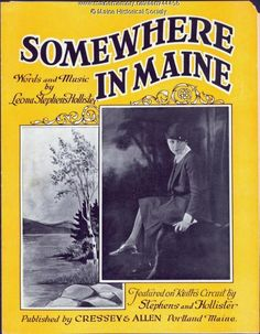 'Somewhere in Maine,' Portland, 1927. Item # 44456 on Maine Memory Network