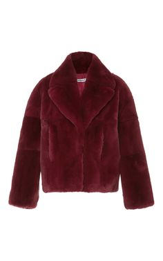 Fur Coat by CACHAREL Now Available on Moda Operandi