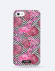 funda-movil-full-tropical-flamencos Phone Cases, See Through, Tropical Prints, Flamingos, Mobile Cases, Phone Case