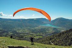 Alpago, paragliding