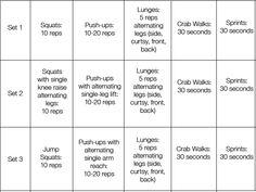Beach Sand Workout - AMRAP 20 min