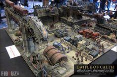 WARHAMMER FEST 2014 - L'incroyable table de jeu de la bataille de Calth par Forgeworld