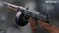 ArtStation - Battlefield V - Weapons, David Olofsson Battlefield Games, Knights Templar, 3d Artist, Weapons Guns, Modern Warfare, Firearms, Just In Case, Concept Art, Military