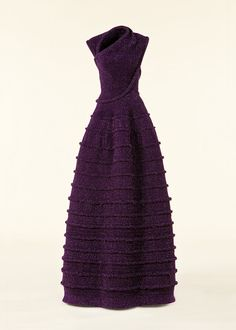 Azzedine Alaia - Eggplant!!!!! Not black, not winter white, not red...Eggplant!  Outstanding...