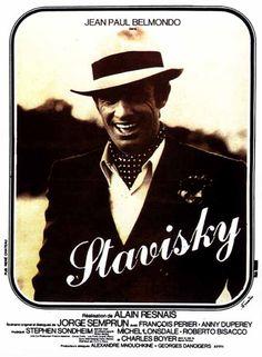 Stavisky... est un film français réalisé par Alain Resnais, sorti en 1974. Le film retrace l'apogée dans les années 1930 et la mort en 1934 de Serge Alexandre Stavisky.  L'histoire débute dans les années 30, alors que « Serge Alexandre » (qui n'utilise plus le nom de Stavisky) mène grand train, et est propriétaire de différentes affaires (théâtre de l'Empire, conglomérat de presse, société foncière phocéenne, bijouterie). Au même moment, Léon Trotski obtient le droit de s'installer en…