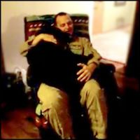 This will bring tears to your eyes.  Sweet Dog Cries for Joy in His Soldier Daddy's Lap - Heartwarming Video